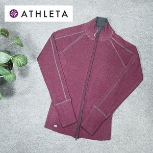 Athleta Zip Up Large